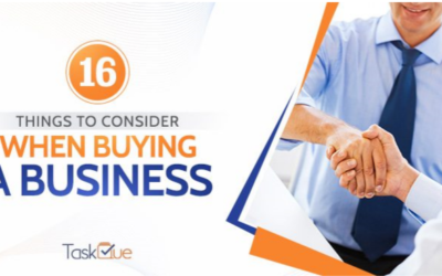 16 Things To Consider When Buying A Business